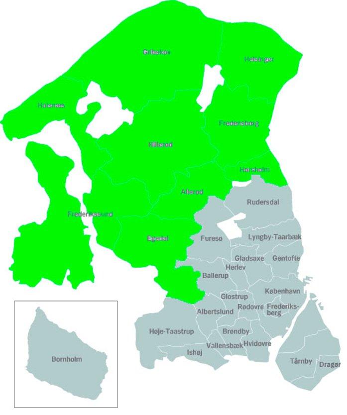 kort rudersdal kommune